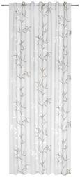 Schlaufenschal Bambus, ca. 140x245cm - Taupe/Weiß, Textil (140/245cm) - MÖMAX modern living