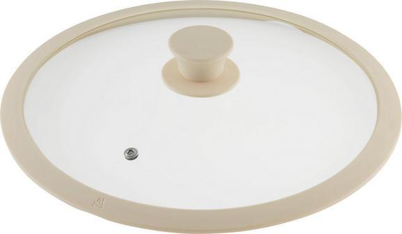 Pokrov Marmor - krem, Romantika, umetna masa/steklo (28cm) - Premium Living