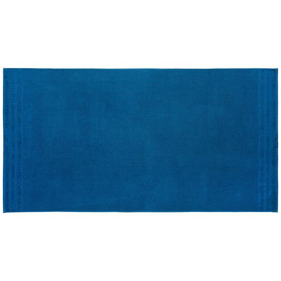 Ručnik Za Saunu Waffel - boje petroleja, Basics, tekstil (90/180cm) - Mömax modern living
