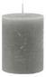 Stumpenkerze Lia in Grau - Grau, MODERN (6,8/9cm) - Mömax modern living
