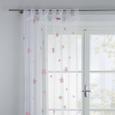 Zavesa Z Zankami Claudia -eö- -ext- - roza/zelena, Romantika, tekstil (140/245cm) - Mömax modern living
