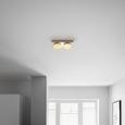 Stenska Led-svetilka Pete - krom, Romantika, kovina/umetna masa (27/14/6,5cm) - Mömax modern living