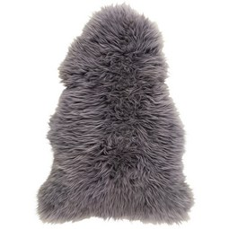 Schaffell Jenny Grau 90x60cm - Grau, Textil (90-105/60cm) - Mömax modern living