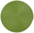 Tischset Billy Grün Rund/oval - Grün, Textil - Mömax modern living
