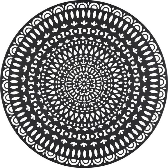 Stenska Dekoracija Paolo - črna, kovina (85/0,5cm) - Mömax modern living