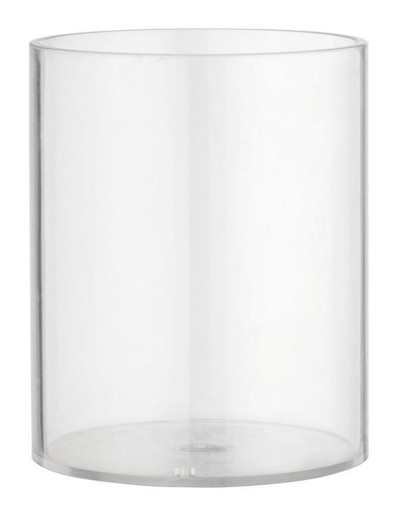 Stiftehalter Denise aus Kunststoff - Klar, KONVENTIONELL, Kunststoff (7.5/9.2/7.5cm) - MÖMAX modern living