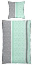 Bettwäsche Doris, ca. 135x200cm - Rosa/Grau, Textil (135/200cm) - MÖMAX modern living