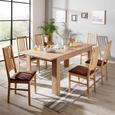 Masă Extensibilă Dinner - culoare lemn stejar, Konventionell, compozit lemnos (160/76/90cm)