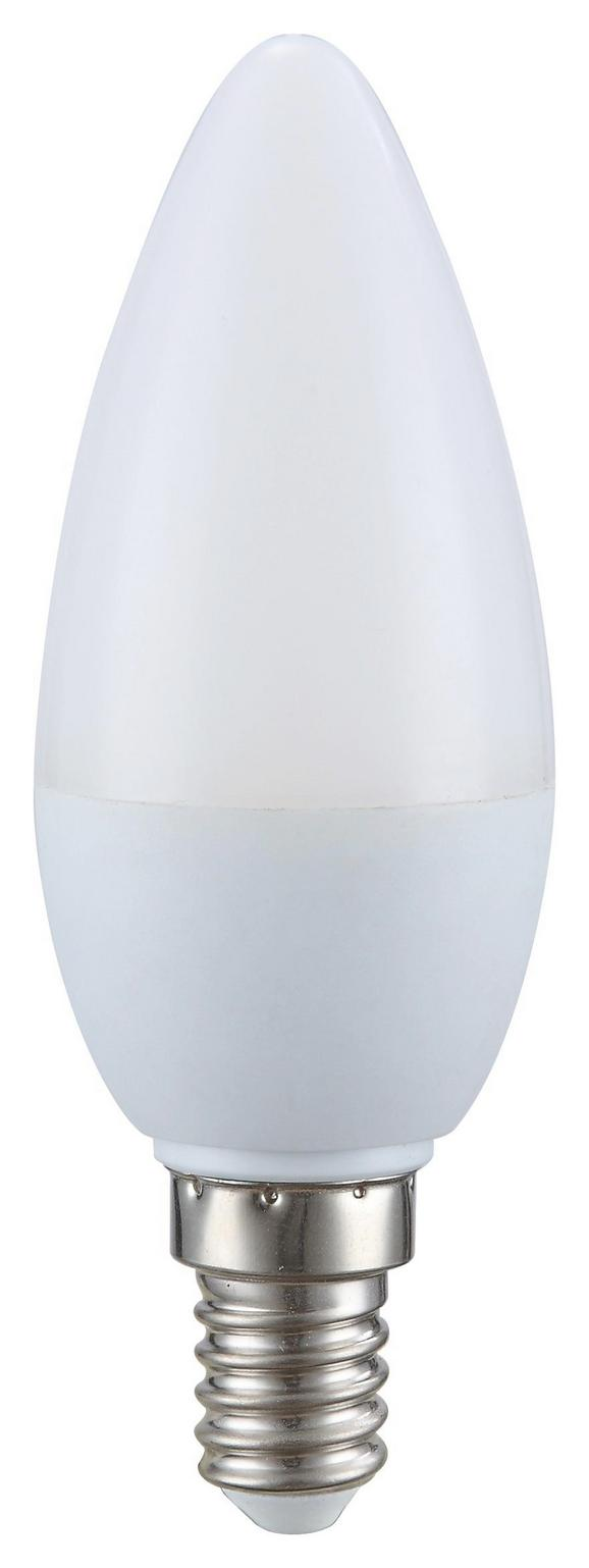 Leuchtmittel 10769 - Silberfarben/Opal (4,5/8cm)