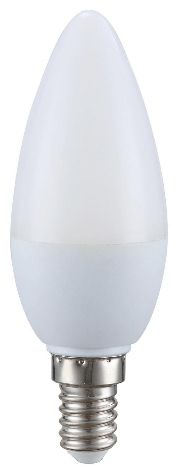 Žarnica 10769 - bela/opal (4,5/8cm)