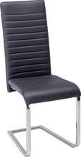 Schwingstuhl Grau - Chromfarben/Grau, MODERN, Textil/Metall (44/102/60cm) - Based