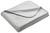 Decke Anni ca. 130x170 cm in Hellgrau - Hellgrau, MODERN, Textil (130/170cm) - Modern Living