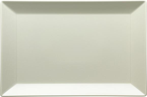 Platte Manhattan City Beige - Beige, MODERN, Keramik (34,2/3/22,7cm)
