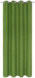 Ösenvorhang Ulli Grün 140x245cm - Grün, Textil (140/245cm) - Mömax modern living