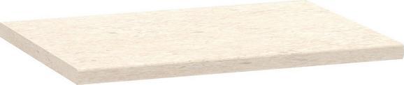 Munkalap Multiforte - Fehér, modern, Fa (83/3,9/60cm)