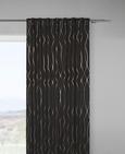 Zatemnitvena Zavesa Glamour - črna/baker, Trendi, tekstil (140/245cm) - Mömax modern living