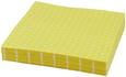 Serviette Mini Dots Gelb/Weiß - Gelb/Weiß, Papier (33/33cm)