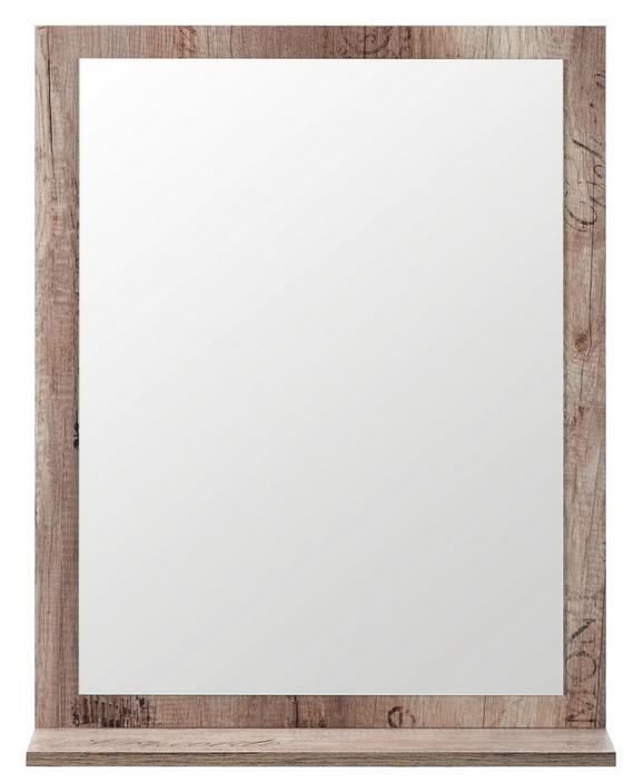 Ogledalo Santino - hrast, Moderno, leseni material (59/73/14cm) - Mömax modern living