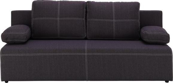 Trosjed Na Razvlačenje U Tamno Sivoj Boji - bijela/crna, Konventionell, tekstil/plastika (202/88/84cm) - Mömax modern living