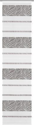 Flächenvorhang Anita Grau 60x245cm - Grau, KONVENTIONELL, Textil (60/245cm) - Modern Living