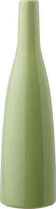 Vase Plancio aus Keramik in Grün - Grün, KONVENTIONELL, Keramik (27cm)
