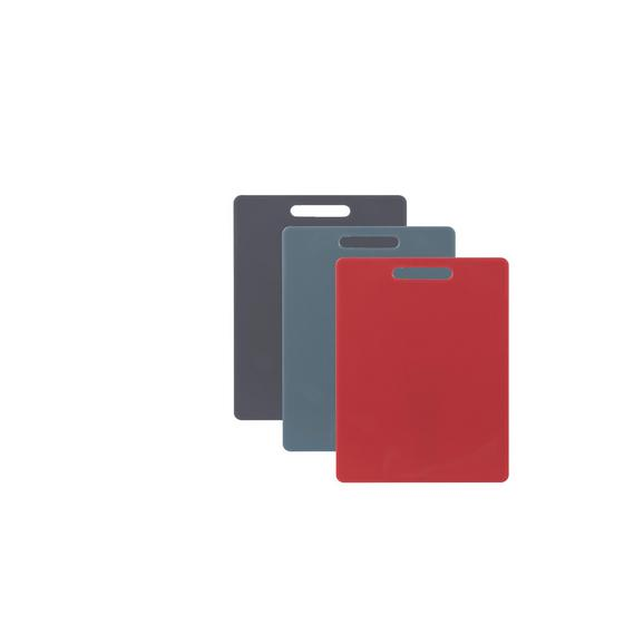 Schneidebrett Sara in verschiedenen Farben - Rot/Schwarz, MODERN, Kunststoff (32/21cm) - Mömax modern living