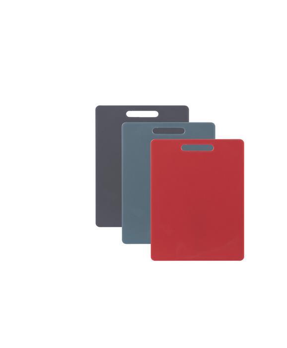 Schneidebrett Sara in verschiedenen Farben - Rot/Schwarz, MODERN, Kunststoff (32/21cm)
