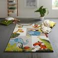 Kinderteppich Jungle in Bunt ca. 120x170cm - Multicolor, Textil (120/170cm) - Mömax modern living