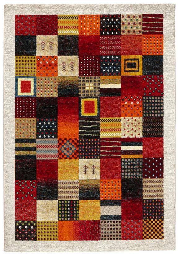 Webteppich Lima 120x170cm - Gelb/Rot, LIFESTYLE, Textil (120/170cm) - Mömax modern living