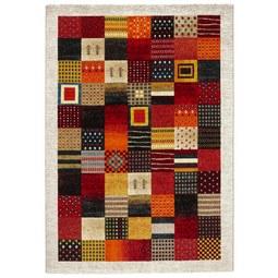 Webteppich Lima Bunt, ca. 80x150cm - Gelb/Schwarz, LIFESTYLE, Textil (80/150cm) - Mömax modern living