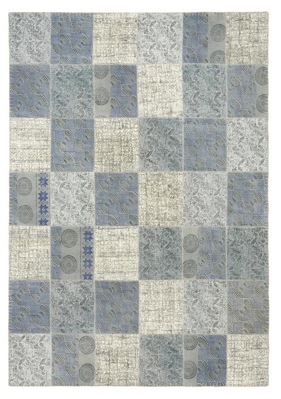 Handwebteppich Leila 160x230 cm - Multicolor/Grau, Textil (160/230cm) - PREMIUM LIVING