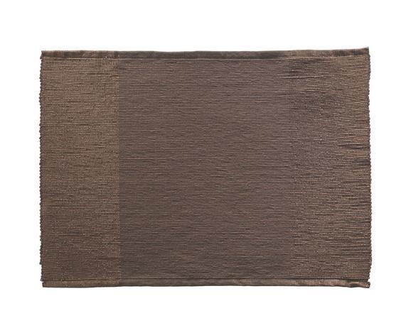 Tischset Brando in Braun - Braun, LIFESTYLE, Textil (33/45cm)