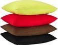 Zierkissen Zippmex Rot ca. 50x50cm - Rot, Textil (50/50/cm) - Based