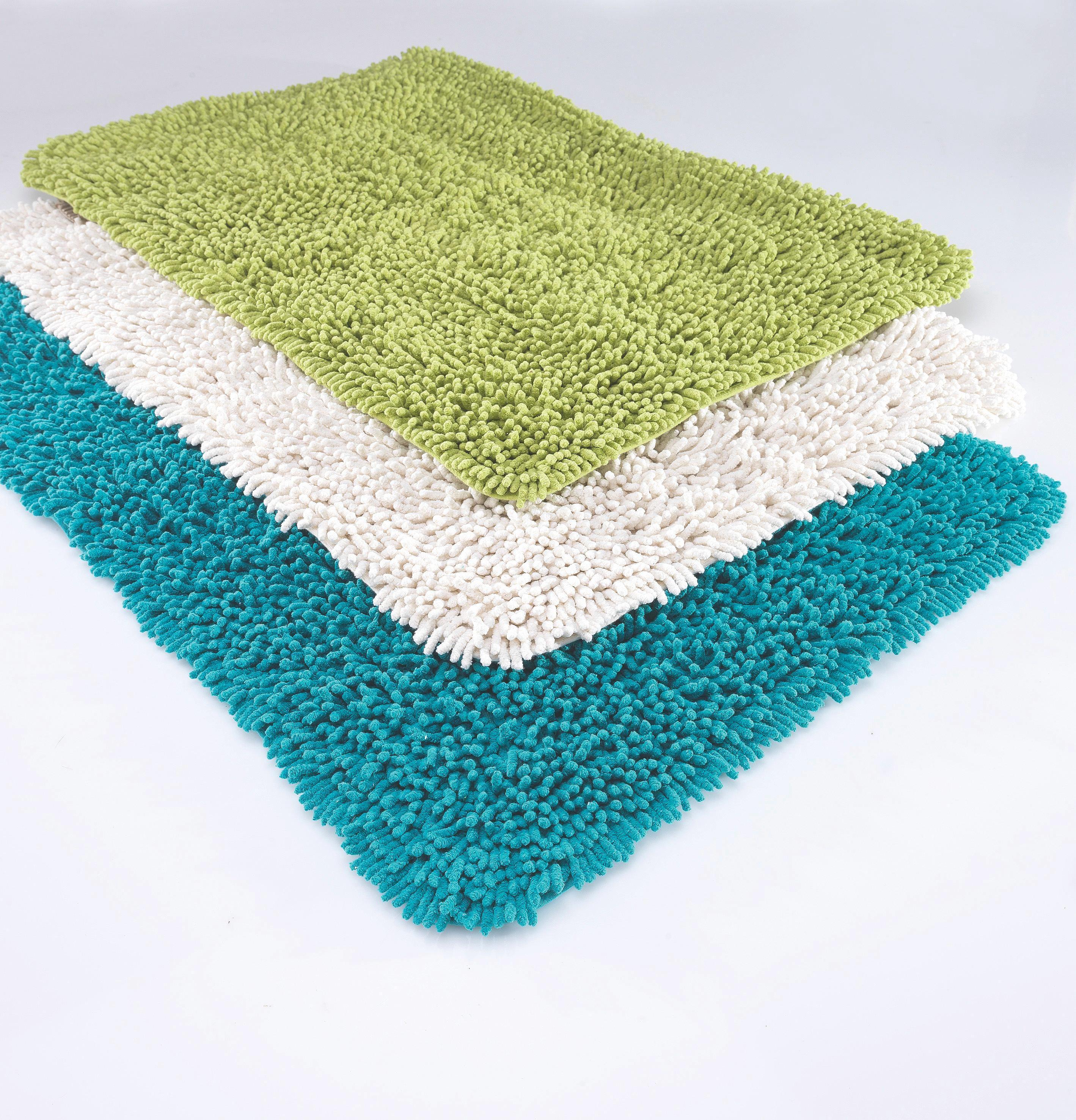 Badteppich Jenny ca. 60x90cm - Grün, Textil (60/90cm) - MÖMAX modern living