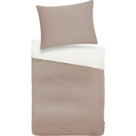 Posteljnina Belinda - siva/krem, tekstil (70/90cm) - Premium Living