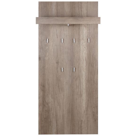 Wandpaneel Eichefarben - Eichefarben, MODERN, Holzwerkstoff (65/147/28cm) - Mömax modern living