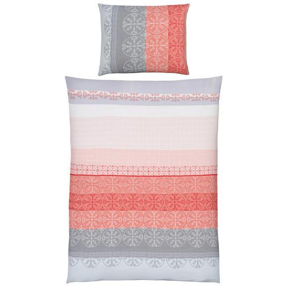 bettw sche helen grau rosa 140x200cm online kaufen m max. Black Bedroom Furniture Sets. Home Design Ideas