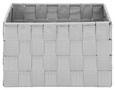 Korb Charlotte S Hellgrau - Hellgrau, Kunststoff/Metall (20/15/12cm) - Mömax modern living