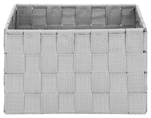 Košara Charlotte - svetlo siva, kovina/umetna masa (20/15/12cm) - Mömax modern living