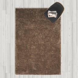 Hochflorteppich in Braun ca.160x230cm 'Shaggy' - Braun, MODERN, Textil (160/230cm) - Bessagi Home
