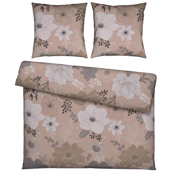 Bettwäsche Mariella ca. 200x220cm - Beige/Grau, KONVENTIONELL, Textil (200/220cm) - Mömax modern living