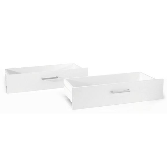 Set Predalov Fura/foxx - bela, umetna masa/leseni material (72/32/34cm)