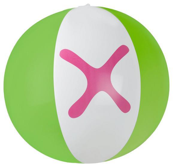 Wasserball Mömax 4 You in Pink und Grün - Pink/Grün, Kunststoff (25cm) - Mömax modern living