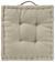 BOXKISSEN Bill Stein 40x40x9cm - Naturfarben, Textil (40/40/9cm) - Mömax modern living