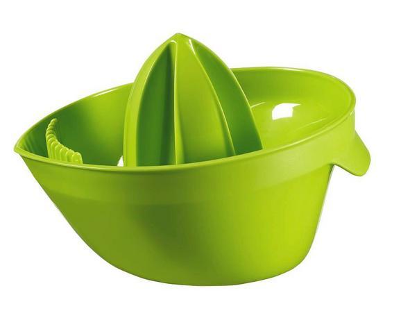 Citromprés Műanyag - zöld, műanyag (15/11/18cm)