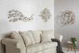 Wanddeko Weiß - Weiß, Holz (90/90/5cm) - Modern Living