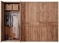 Drehtürenschrank Eichefarben - Eichefarben, KONVENTIONELL, Holz/Holzwerkstoff (306/223/63cm) - Premium Living