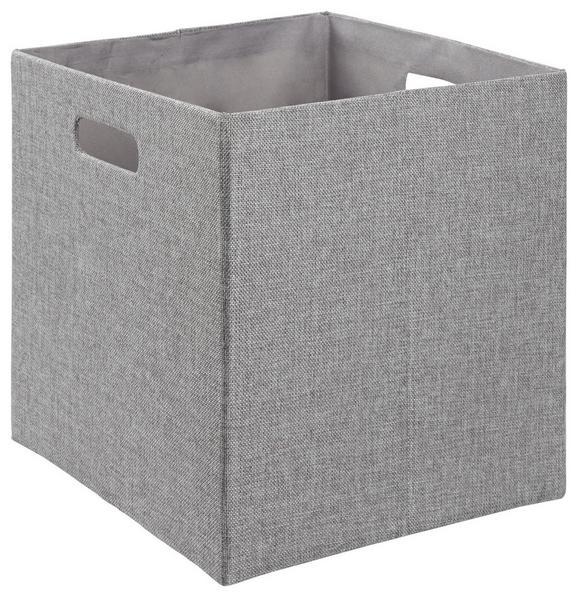 Aufbewahrungsbox Bobby in Grau - Grau, MODERN, Textil (33/33/32cm) - Mömax modern living