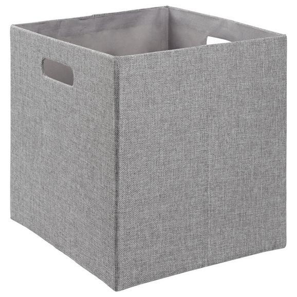 Faltbox Bobby Grau - MODERN (33/33/32cm) - Mömax modern living