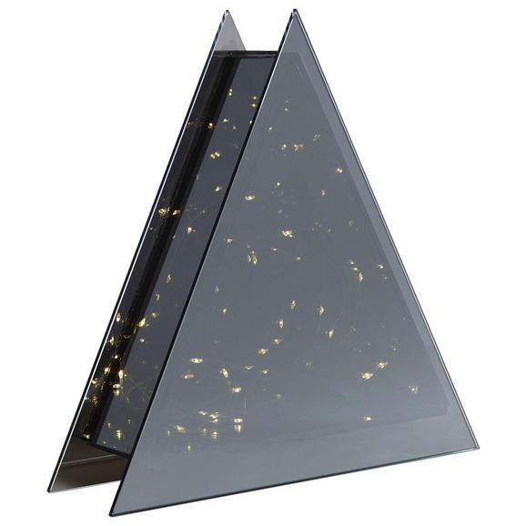 Okrasno Drevo Ben - skrilavec, steklo (25cm)
